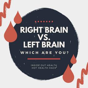The Basics : Right Brain, Left Brain