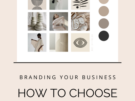 How to pick a color palette for your business