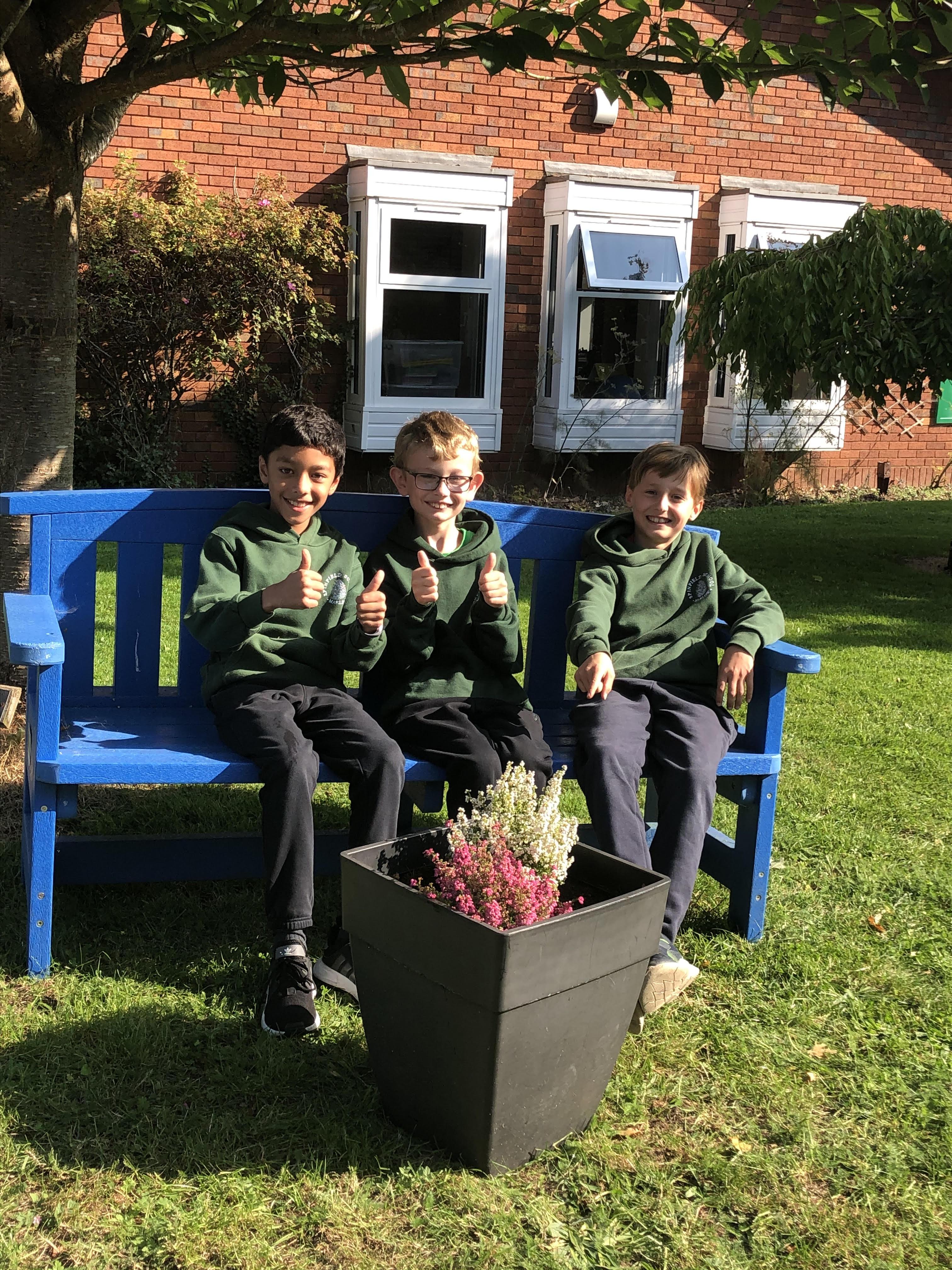 Mr Bowe's gardeners!