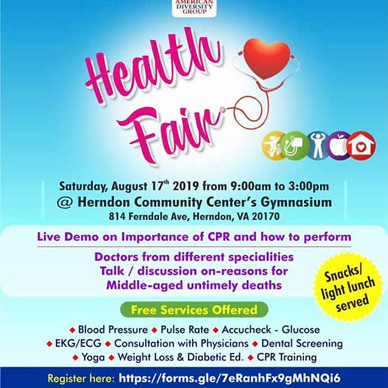 Health and Wellness Education Fair