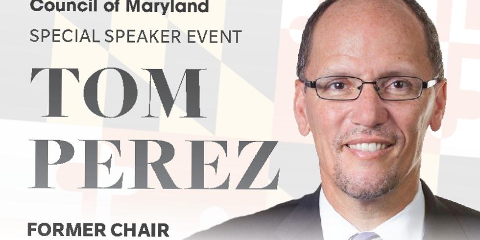 Special Speaker Event: Tom Perez