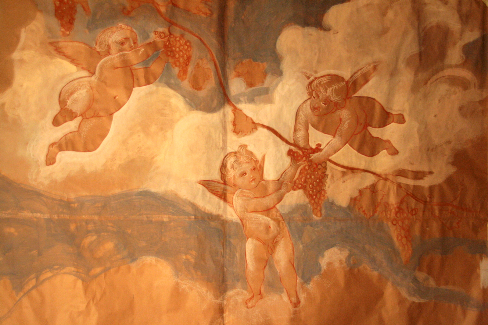 Putti in the Cellar