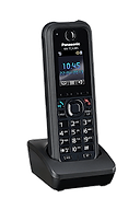 Panasonic KX-TCA385 rugged wireless DECT keyset for use with the Panasonic Digital IP PBX telephone systems