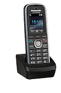 Panasonic KX-TCA285 wireless DECT keyset for use with the Panasonic Digital IP PBX telephone systems
