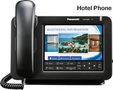 Panasonic KX-UT670 SIP Telephone for hotel use