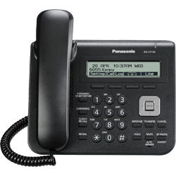 Panasonic KX-UT123 SIP Telephone for Hosted VoIP PBX Systems