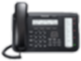 Panasonic KX-NT553 IP keyset for use with the Panasonic Digital IP PBX telephone systems
