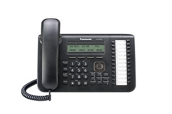 Panasonic KX-NT543 IP keyset for use with the Panasonic Digital IP PBX telephone systems