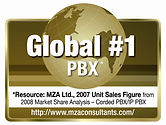 Panasonic is the global leader in small business telephone systems