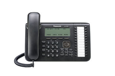 Panasonic KX-NT546 IP keyset for use with the Panasonic Digital IP PBX telephone systems