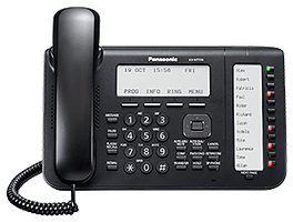 Panasonic KX-NT556 IP keyset for use with the Panasonic Digital IP PBX telephone systems