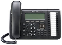 Panasonic KX-DT546 digital keyset for use with the Panasonic Digital IP PBX telephone systems