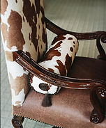 upholstery pattern, artistic chair