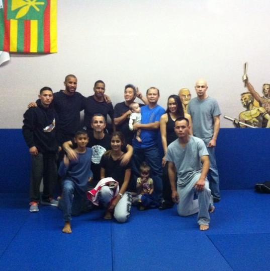 Dwight at Nak Muay Thai-Lao in Las Vegas