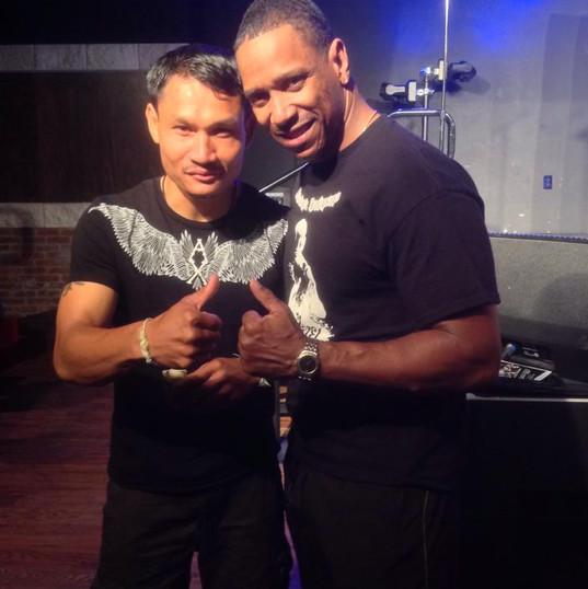 Dwight & Malaipet Sasiprapa, Muay Thai Legend and Champion