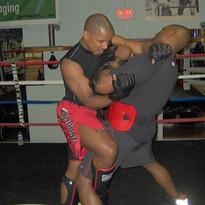 Dwight Muay Thai Training