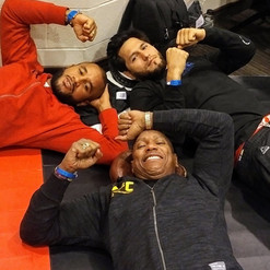 Dwight with UFC Fighters