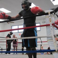 Dwight Boxing Training