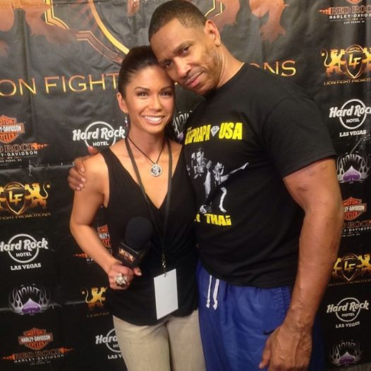 Dwight at Lion Fight in Las Vegas