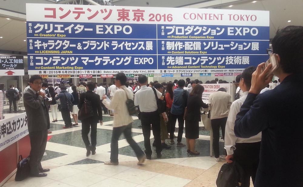 Licensing Japan -tapahtuman vilinää