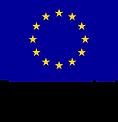 """EU lippu ja teksti """"Euroopan Unioni, Euroopan sosiaalirahasto""""."""