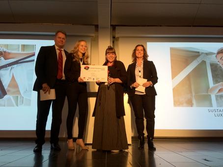 TIEDOTE: Suomalainen Lovia Oy palkittiin Creative Business Cupin parhaana sijoituskohteena