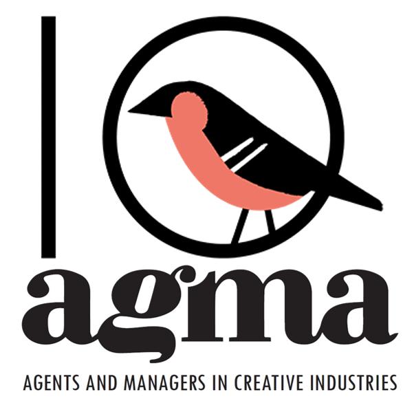 AGMA 10 vuotta logo