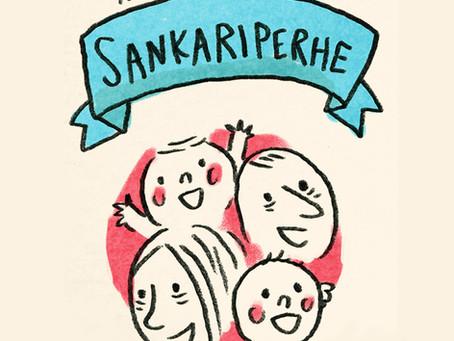 Kuvittaja Ami Lindholm ja Meidän perhe -lehti aloittivat yhteistyön