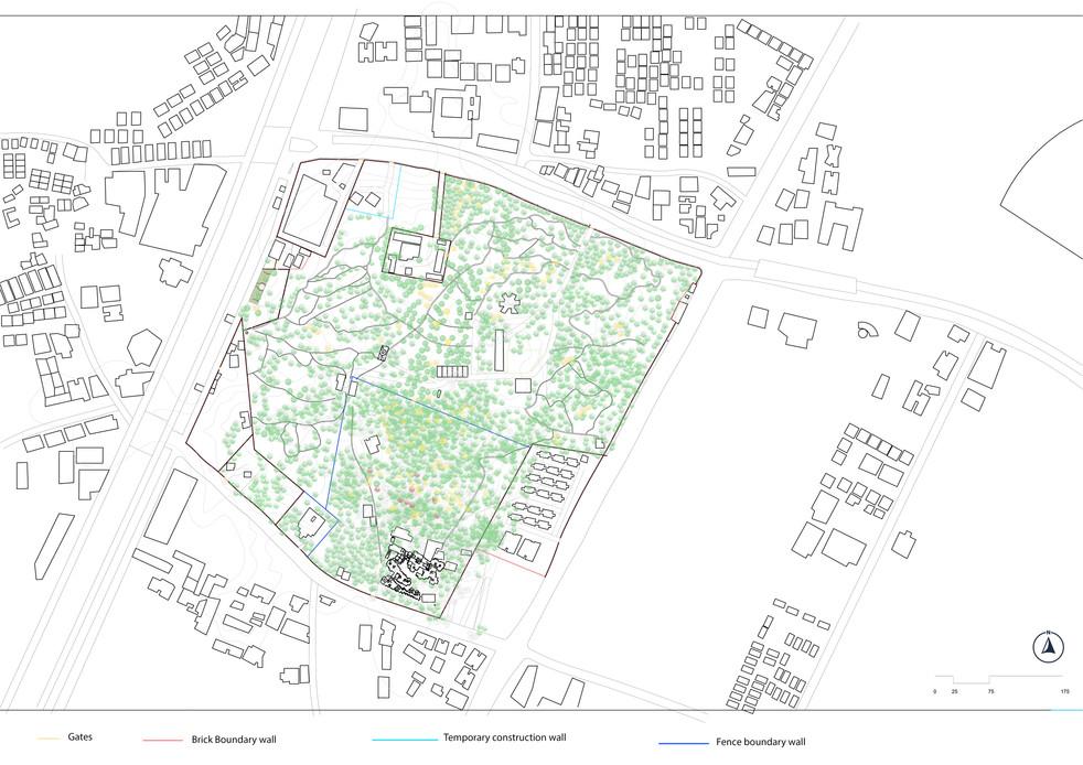 Existing Site Boundaries