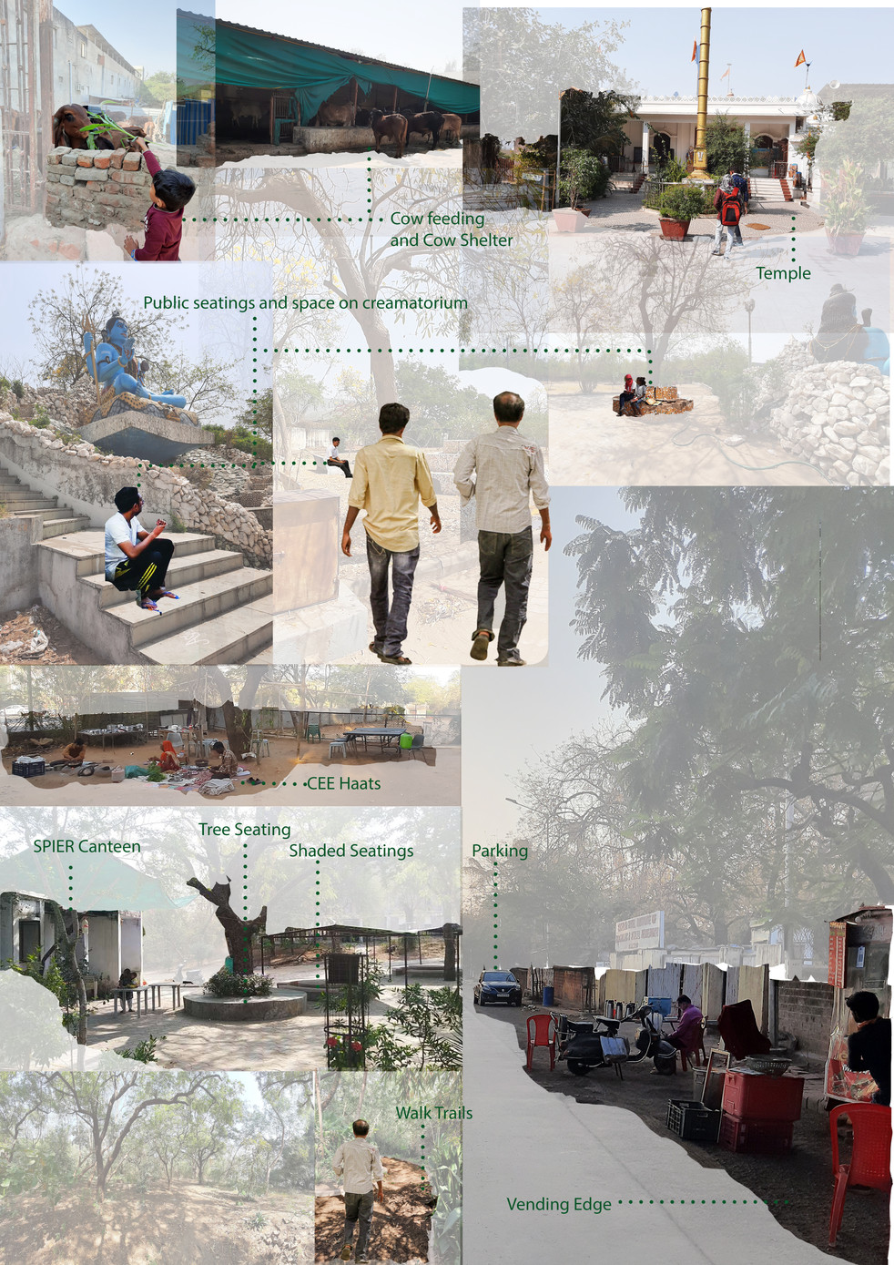 Existing Site Collage