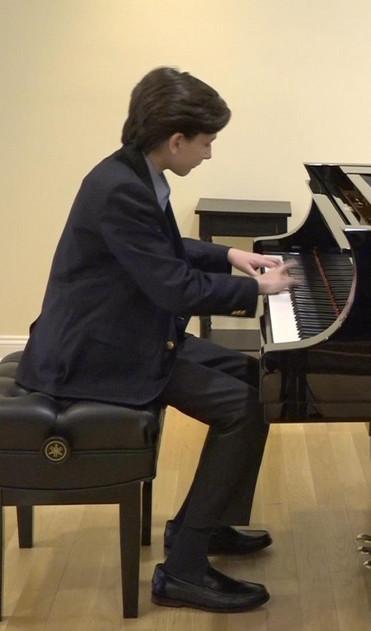 Alexander plays Tcherepnin at Faust Harrison Pianos
