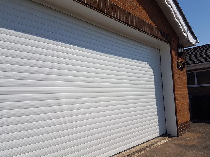 ED77 Executive Double Electric Remote Control Roller Garage Door