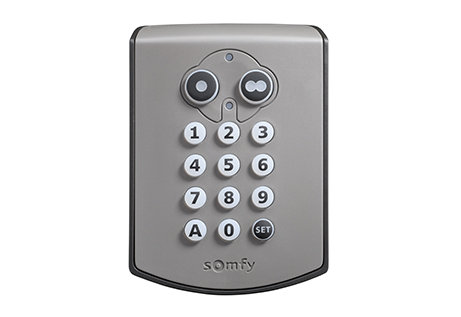 Plastic Version Somfy Wireless Key Pad
