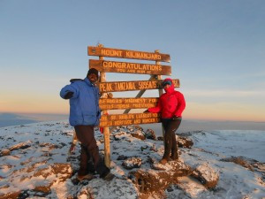 Owner Allie climbed Kilimanjaro alone for charity