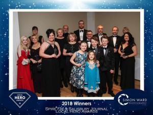 Sara and Owner Alison won Local hero awards