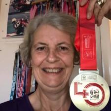 Debs ran the London Marathon and will run next year