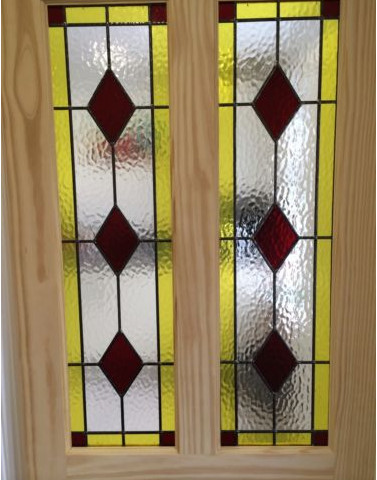 Stained glass internal door clear pine door supplier all doors are hand made to order so please allow 2 4 weeks before delivery planetlyrics Images