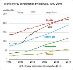 World Energy Fuel Use
