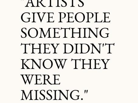 An Artist Life...