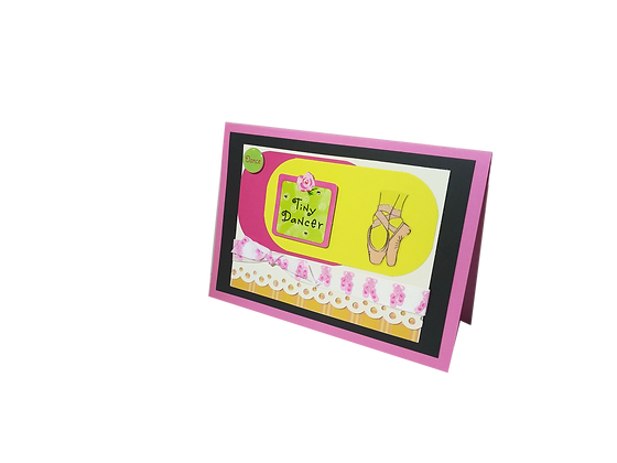 Ballet inspired 2 card set.