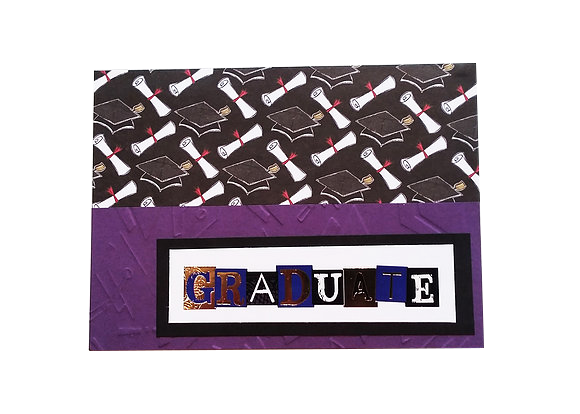 Graduate card.