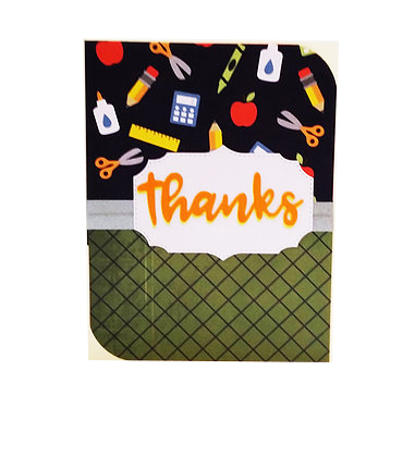Thanks card.