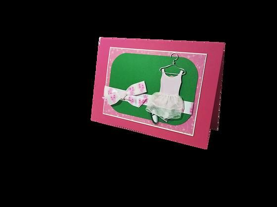 Ballerina card.
