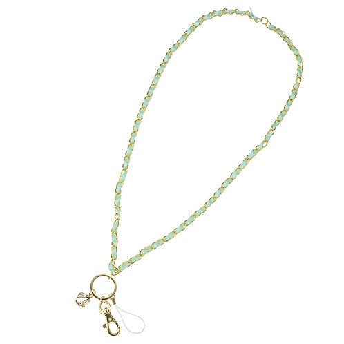 Lanyard Collection - Little Mermaid Seashell Neck Strap