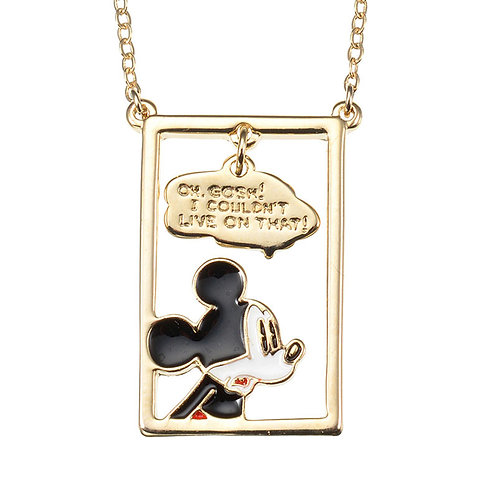 Disney Story Series - Mickey Comic Necklace