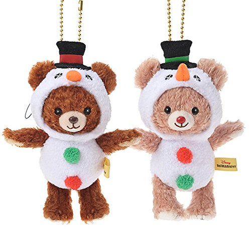 Unibearsity Keychain Collection - Mont & Blanc Christmas Snowman Unibearsity Set
