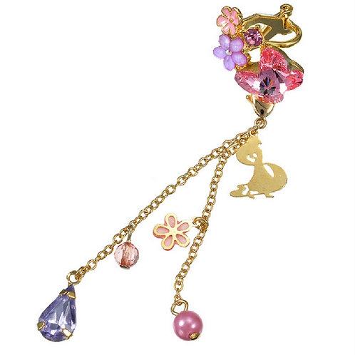 Clip Earring Collection :  2 Way Earring Rapunzel Ear Dress