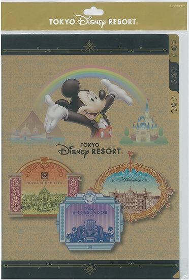 File Collection - Disneysea Mickey Miracosta Edition Multi Pocket File (01pc)
