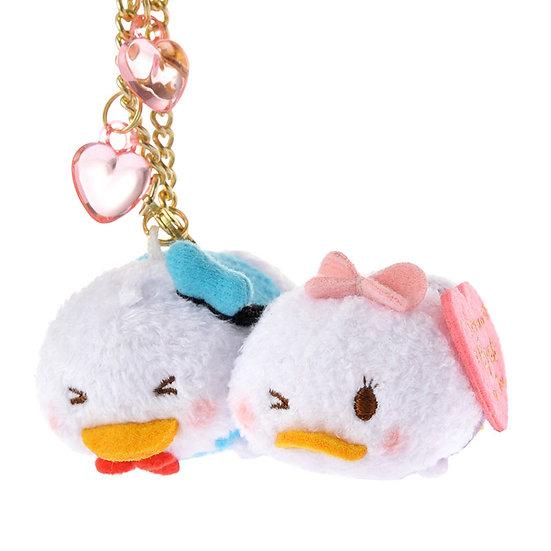 Tsum Tsum Collection -  Valentine Donald & Daisy Tsum Tsum Stack Stack Keychain