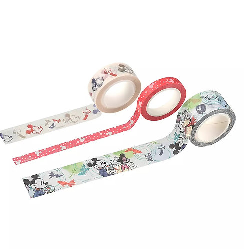 Washi tape Collection- Mickey & Minnie Goldfish Japan Culture Washi Tape